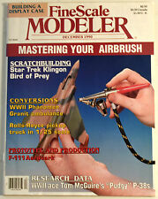 Magazine Fine Scale Modeler December 1990 Vol.8 No.8 Mastering your Airbrush