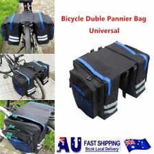 24L Cycling Bike Bicycle Rear Rack Seat Trunk Saddle Storage Pannier Pouch Bag