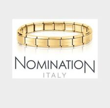 Nomination Bracelet 18 Links Yellow Gold Steel RRP £49.95