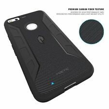 Karbon Shield Series Rugged TPU Protective Case for Google Pixel Black New