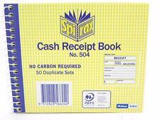 100 Leafs Duplicate Copymate 200 Pages Carbonless Cash Receipt Books 13.5x9.5cm