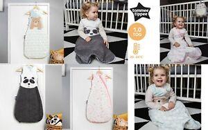 Grobag Tommee Tippee Baby Boy Girl Sleeping Bag Tog 1.0 Bennie Panda 6-18 18-36m