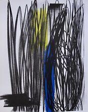 "HANS HARTUNG ""COMPOSITION"" 1973 Original Lithograph by XXieme Siecle in Paris"