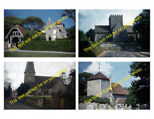 MRSAAA-A01 Set of 4 Photos of Historic English Churches Taken in the 1960s
