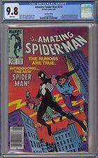 Amazing Spider-Man #252 CGC 9.8 NM/MT Wp 1984 Canadian Price Variant None Higher