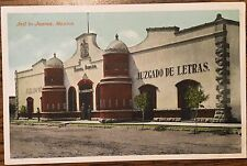 DL523 Juarez Mexico Jail Juzgado de Letras Vintage PC