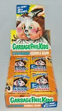1987 Topps Garbage Pail Kids 9th Series Case 48 Packs Unopened Sticker Bubblegum