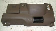 1994 94 TOYOTA CAMRY STEERING COLUMN DASH TRIM PANEL BROWN FUSE BOX COVER LOWER
