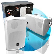 3 Wege Boxen mit Halterung weiß Paar 160-W Lautsprecher Decke und Wand PB-402