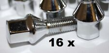 Bmw e21 frase 16 x tornillos plenamente cromado 16 trozo bmw 315 - 323i