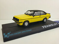 "Slot Scx Scalextric Team Slot Ref.12705 Ford Escort Mkii RS2000 "" Yellow """