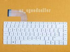 for HP envy 14-u001la 14-u003la 14-u121la Keyboard Spanish Teclado White No Fram