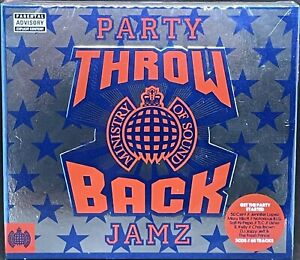 MINISTRY OF SOUND - THROW BACK PARTY JAMZ, VARIOUS, TRIPLE CD ALBUM, (2016)*NEW*