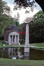 PHOTO  1989 OBELISK AND POOL CHISWICK PARK PART OF THE GROUNDS OF WHAT WAS BUILT