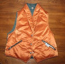 Women's    US  made    Goose Down  Reversible Hunting  Vest   Large