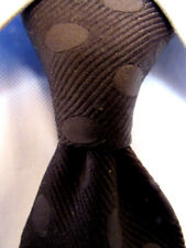 Mens Harrods Black Silk Tie A29275