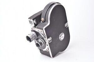 Kamera Cinema Paillard Bolex Modell H8 Mit Zwei Objektive