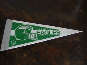 Philadelphia Eagles---Mini Pennant---4x9---1980's---Mint---Very Hard To Find
