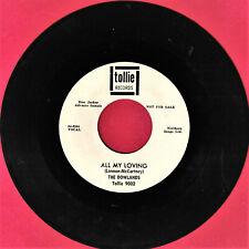 DOWLANDS ALL MY LOVING POP GROUP BEATLES ROCK JOE MEEKS 45 RPM RECORD