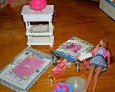 1998 Juego De Cocina De Muñeca Barbie Sweet Treats-Sin Caja-nunca jugado con