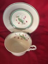 Syracuse Old Ivory Tea Cups and Saucer Set of 2