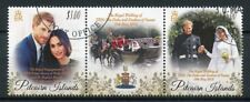 Pitcairn Isl 2018 CTO Prince Harry & Meghan Royal Wedding 2v Set Royalty Stamps