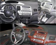 HONDA CIVIC DX LX EX Si INTERIOR DASH TRIM KIT SET 2006 2007 2008 2009 2010  2011 (Fits: 2008 Honda Civic)