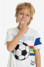 - 40% Desigual Boys T-Shirt JOSEBA in weiss~Neu~Gr. 7/8 Y~NP 32,95 €