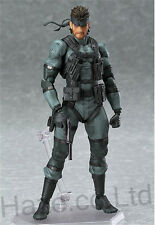 """Metal Gear Solid Snake Action Figure Kids Doll Cosplay with Box 6"""""""