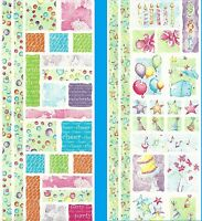 Creative Memories 2 X JUMBO GREAT LENGTH STICKERS - PARTY TIME