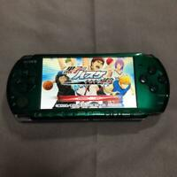 Used SONY PSP Playstation Portable Spirited Green Console Only PSP-3000 JAPAN FS
