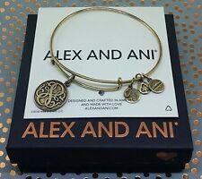 Alex and Ani PATH OF LIFE Charm Bangle Bracelet - Rafaelian Gold