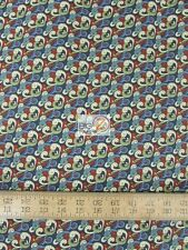 BIRDS OF A FEATHER PAISLEY ALL-OVER BY WILMINGTON PRINTS COTTON FABRIC FH-1961