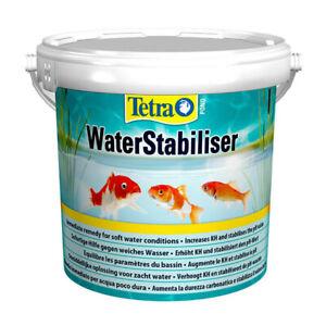 Tetra Pond Water Stabiliser 1.2kg Raise PH KH Carbonate Hardness Health