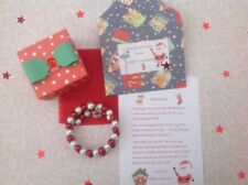 Personalised Father Christmas Letter, Bracelet, Gift Box, Christmas Eve, Santa