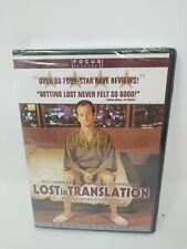 Lost in Translation (Dvd, 2004, Pan Scan) Bill Murray Scarlet Johansson