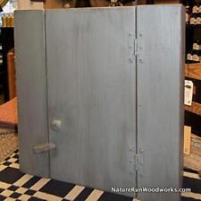 Primitive Handcrafted Deerfield Wall Cupboard-FREE SHIPPING TO LOWER 48 STATES