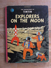 HERGE: the Adventures of Tintin Explorers on the Moon Methuen HC 1st pri 1959