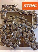 """Stihl MS150 / MS150T 10 """" 25cm Chaîne Tronçonneuse 1/4p 36700000056 Véritable"""
