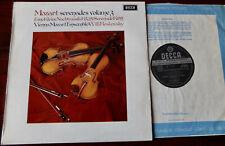 DECCA SXL 6420 WB MOZART SERENADES EINE KLEINE LP BOSKOVSKY EX (1970) ENGLAND