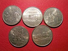 You can choose 5 American State quarters USA 25 cent popular coins set