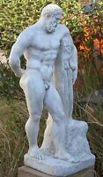 Sculpture Statue Garden Ornament Home Decor Figurine Greek Hercules Art Sydney