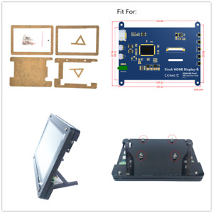 5 inch HDMI Display Case LCD HD Capacitive Touch Screen Stand For Raspberry Pi