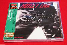 MOTLEY CRUE - TOO FAST FOR LOVE - JAPAN JEWEL CASE CD - OOP UICY-91889