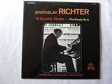 A. Scriabin* - Sviatoslav Richter – Etudes By A. Scriabin LP Album