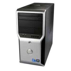 Dell Precision T1500 Computer PC 2.63 GHz i5-750 Quad Core -Windows 10 Pro - 4GB