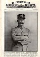1917 London News August 18 - Petain; Gotha plane captured; Egypt army; Gaza find