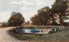 Spinney & Pond Soulbury Nr Linslade Leighton Buzzard unused old pc