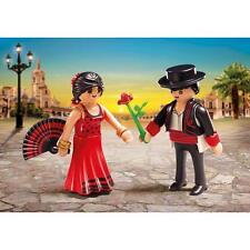 """New! PlayMobil 6845 """"Flamenco Dancers Duo Pack"""" Children Playset"""