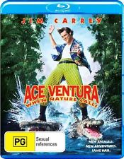 *New & Sealed* Ace Ventura - When Nature Calls (Blu-ray) Jim Carrey Comedy Movie